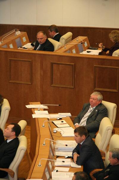 Владимир Коньков на осенней сессии