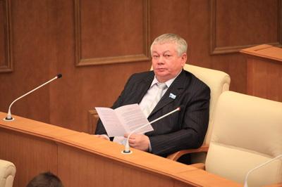 Владимир Коньков на весенней сессии в Думе