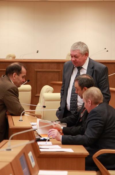 Владимир Коньков. Обсуждение на весенней сессии в Думе