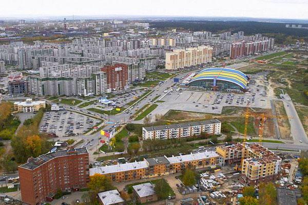 Работа: Район Ботаника - Екатеринбург (Чкаловский