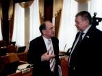 Владимир Коньков с Николаем Ворониным