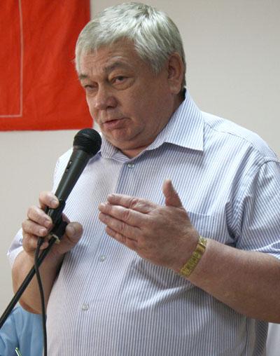 Владимир Коньков на городской партконференции
