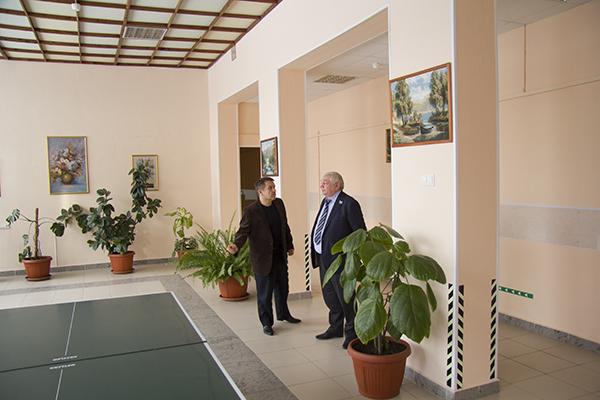 Владимир Коньков прибыл в Уктусский пансионат