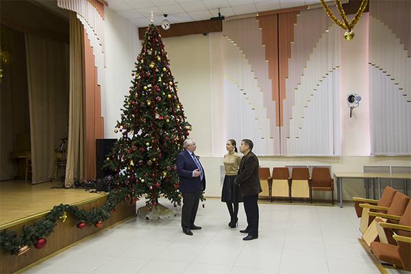 Владимир Коньков и Юлия Михалкова в Укстусском пансионате