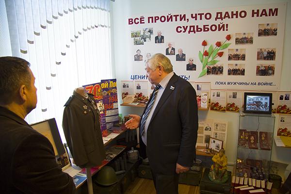 Владимир Коньков в Уктусском пансионате